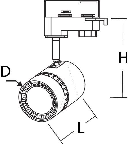 led 3 Phasenstrahler_size TBRW501540140